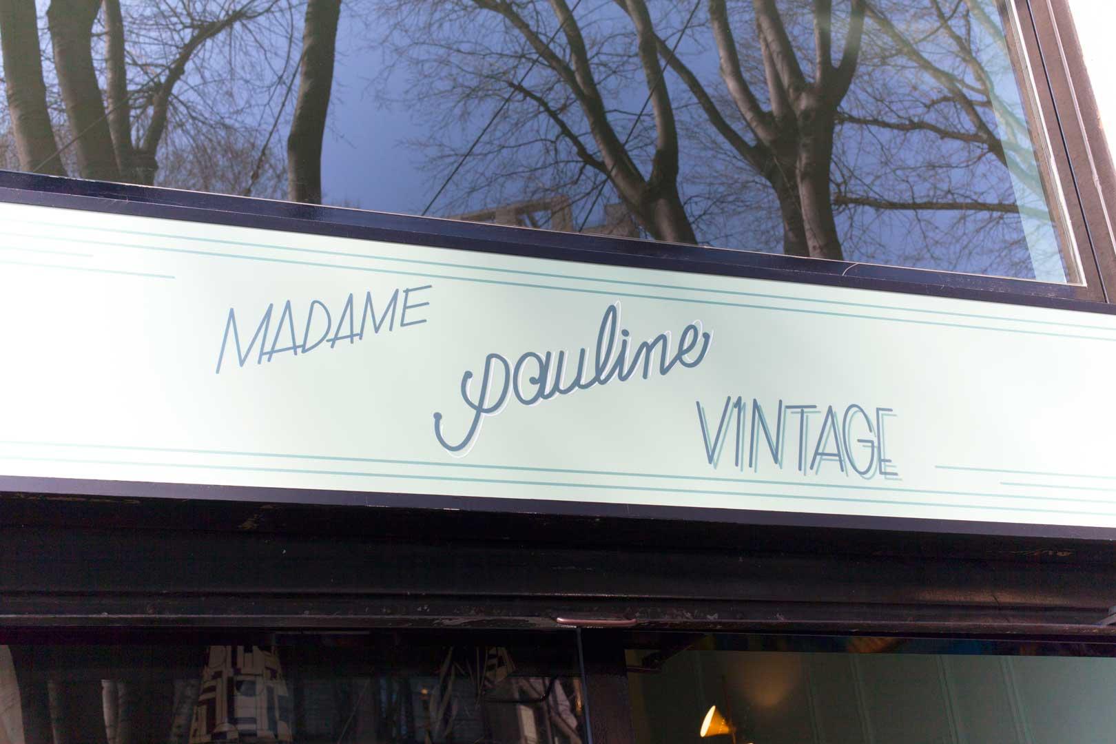 Madame Pauline Vintage