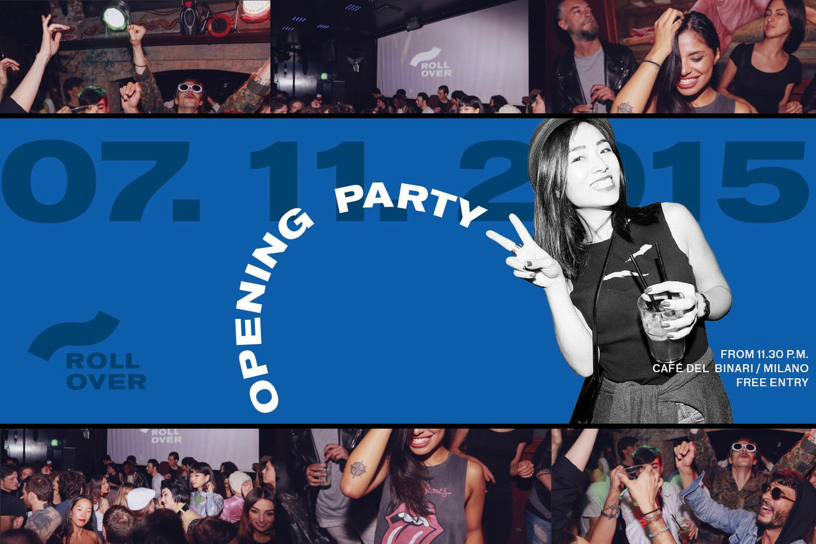 Rollover FW 15-16 Opening Party