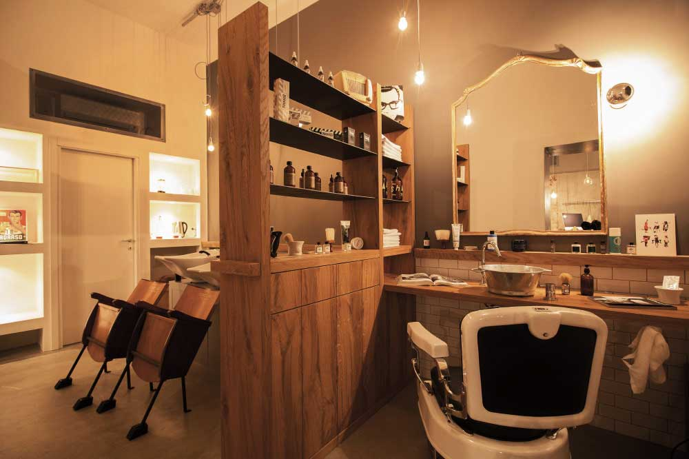 Tonsor Club Barber Shop - Photo Credit Alessandro Tozzi