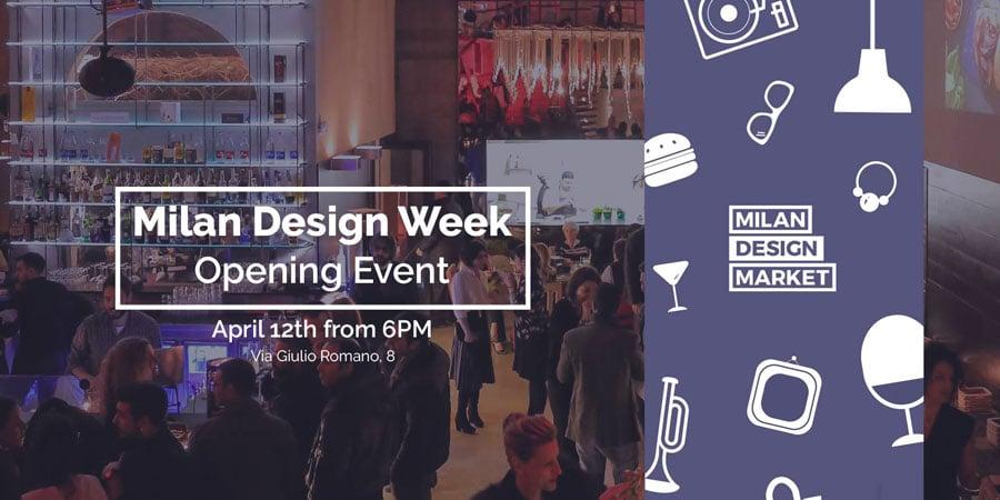 Milan Design Week - opening party