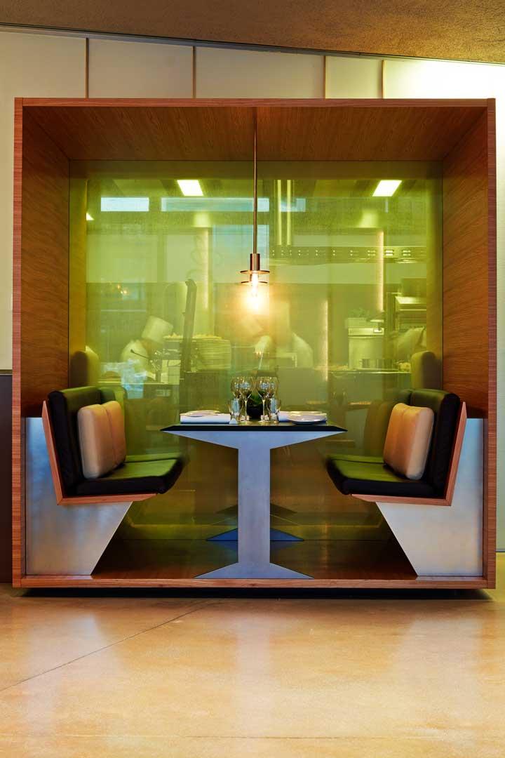 Tavolo vista cucina - Ristorante Berton