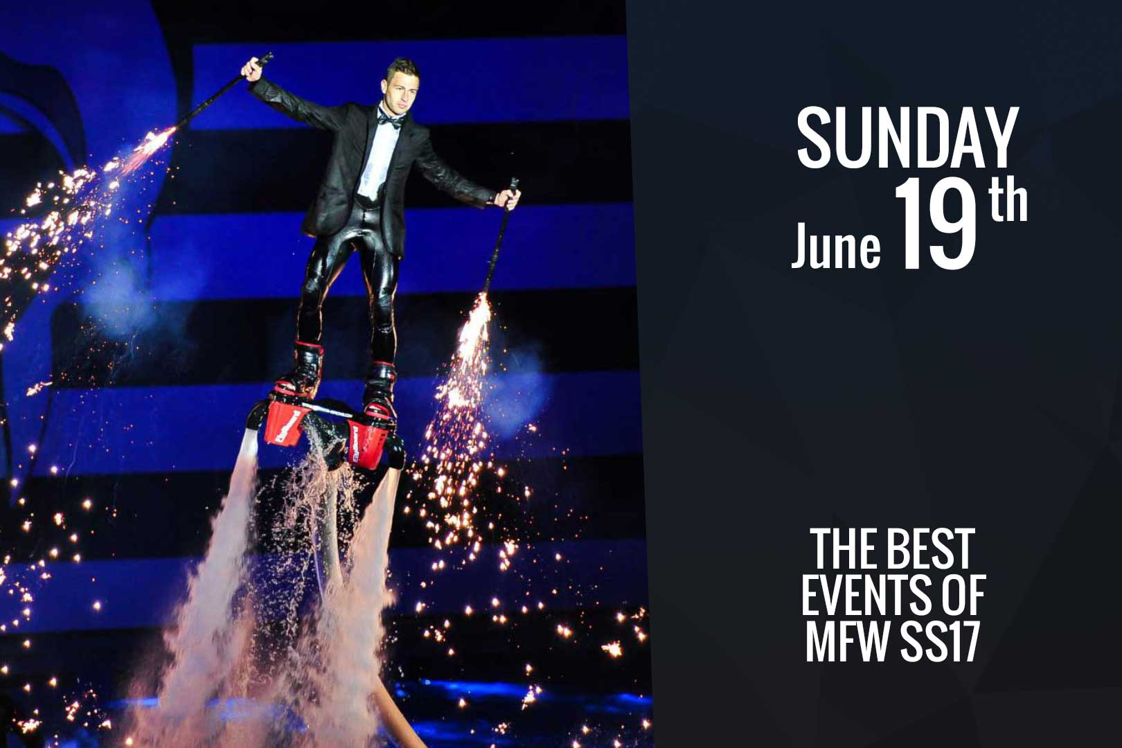 Sunday June 19th: the best events