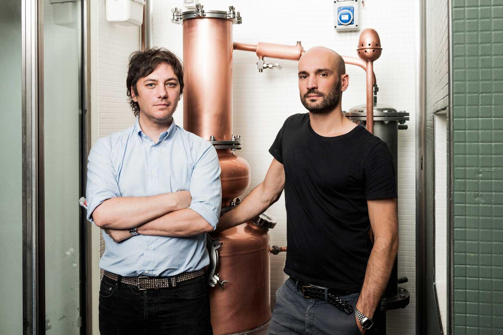 Davide Martelli e Alessandro Longhin