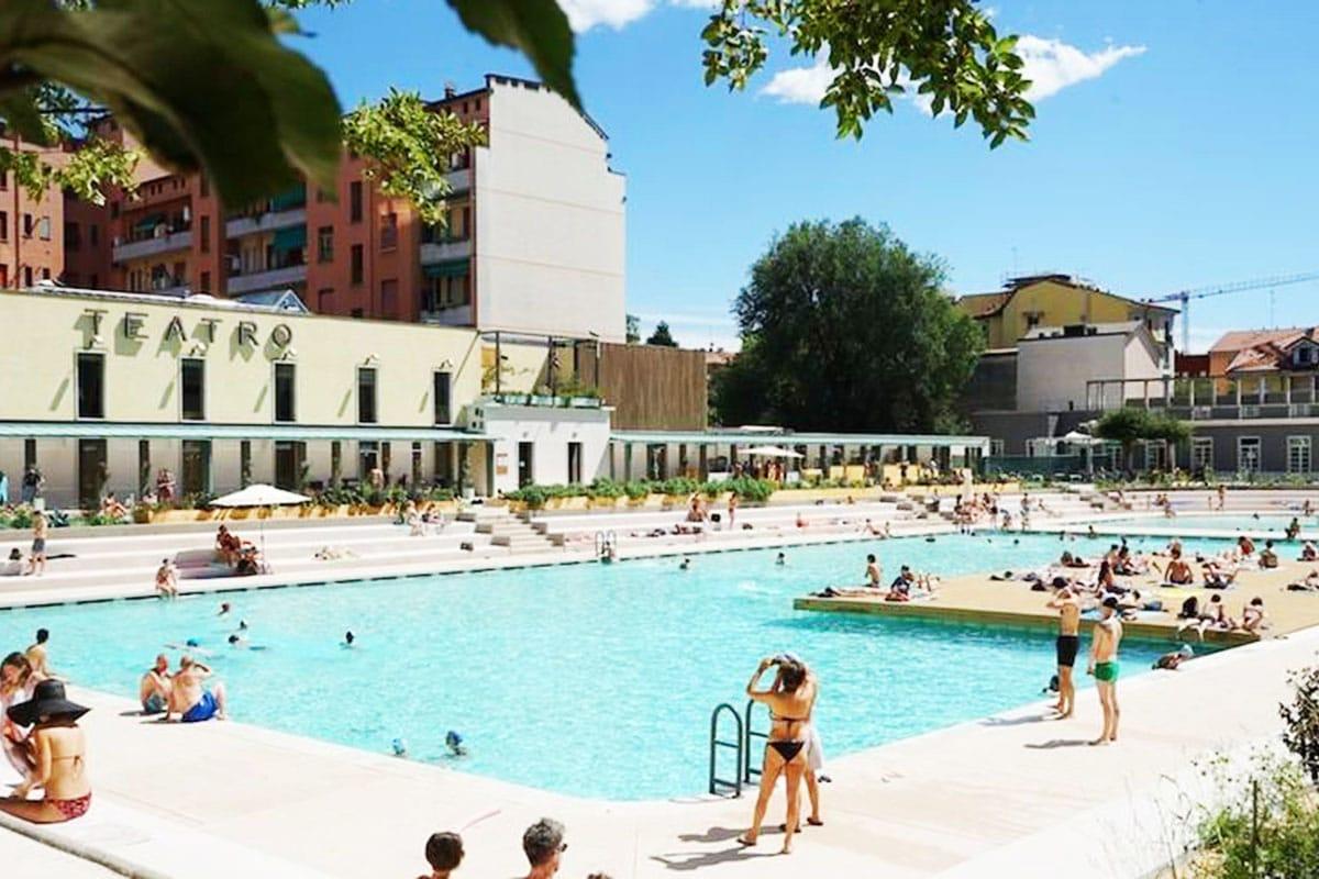 Bagni Misteriosi - piscina ex Caimi