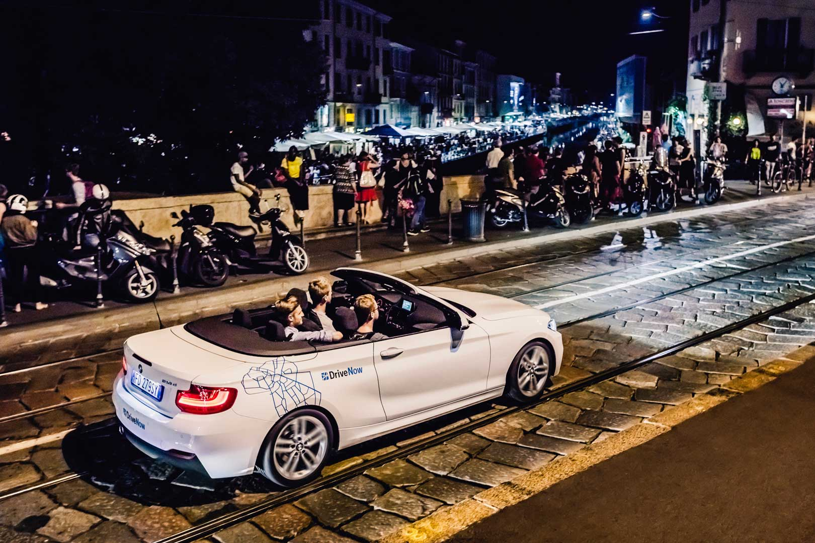DriveNow: BMW and Mini car sharing comes to Milan