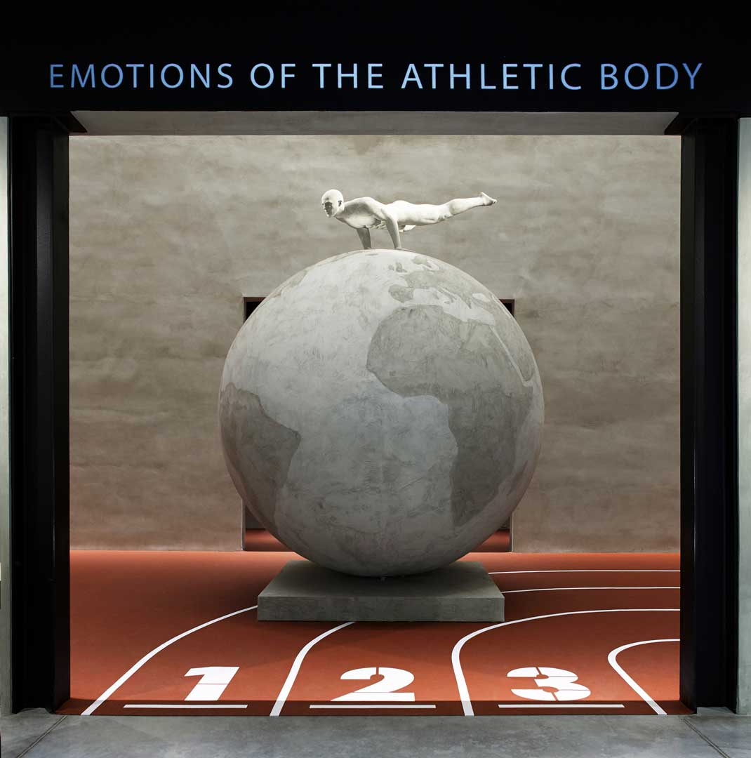 Emotions of the Athletic Body - Armani/Silos
