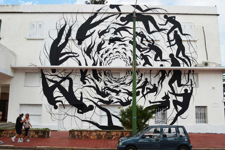 Wunderkammern - Latitude - David de la Mano - Vortex (2014) - Distrito de Arte Urbano Punta del Este, Uruguay