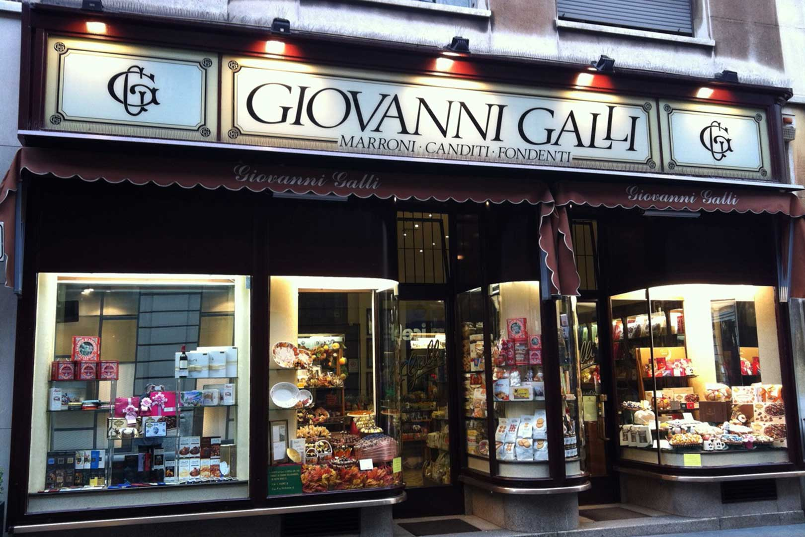 Giovanni Galli Glaces Marrons