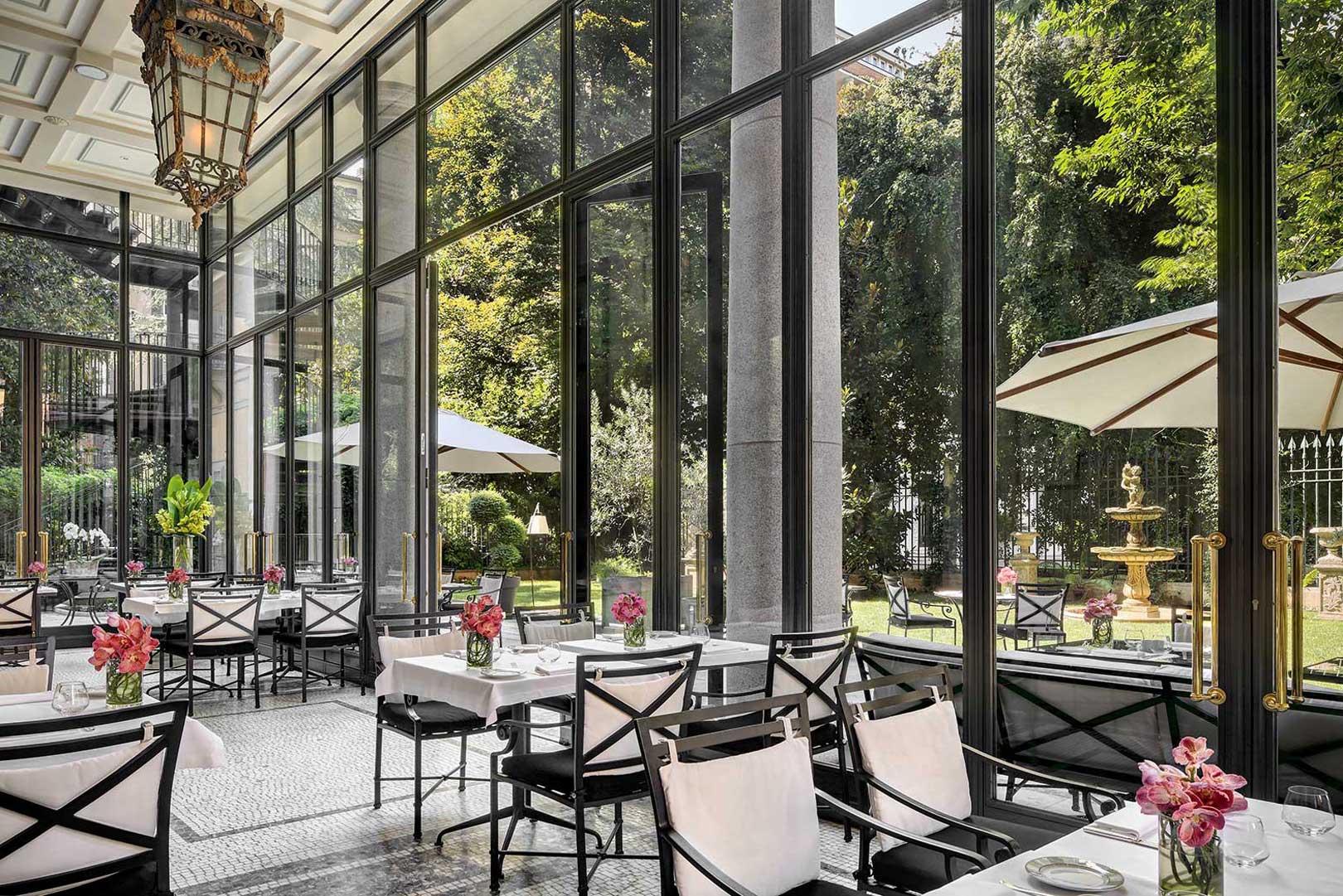 The best restaurants with a garden in Milan