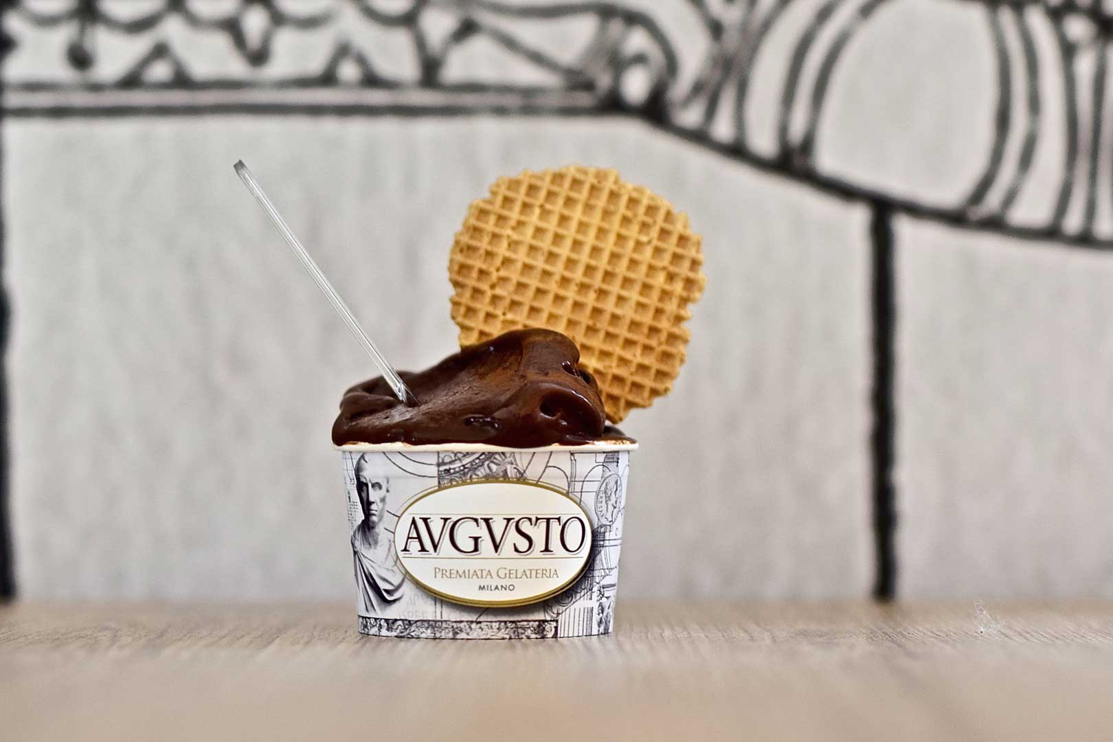 Premiata Gelateria Augusto - Cioccolato Domori