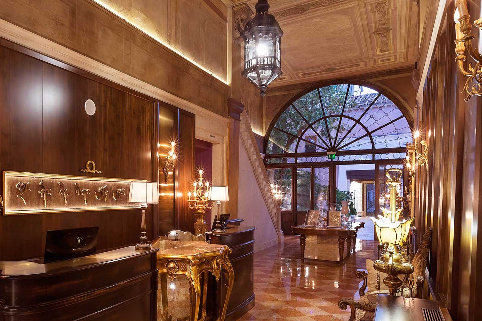 Palazzo Venart Reception