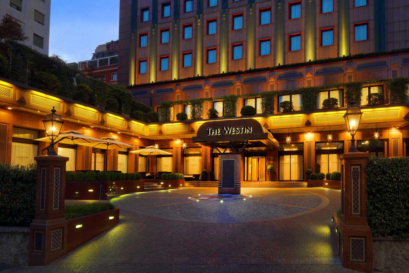 Westin Palace Milan - Hotel Exterior