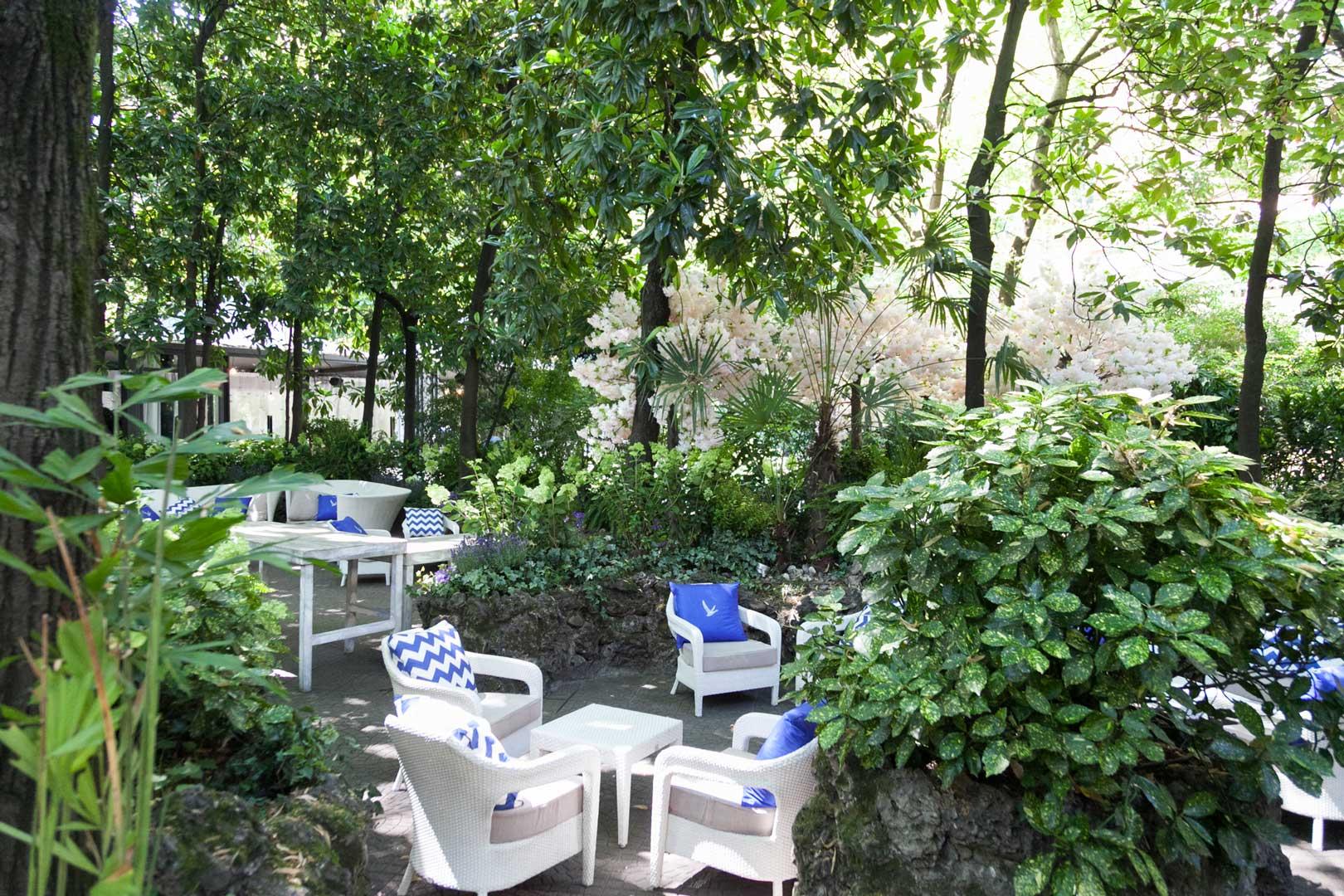Grey Goose Atelier of Taste @ Sheraton Diana Majestic | Garden