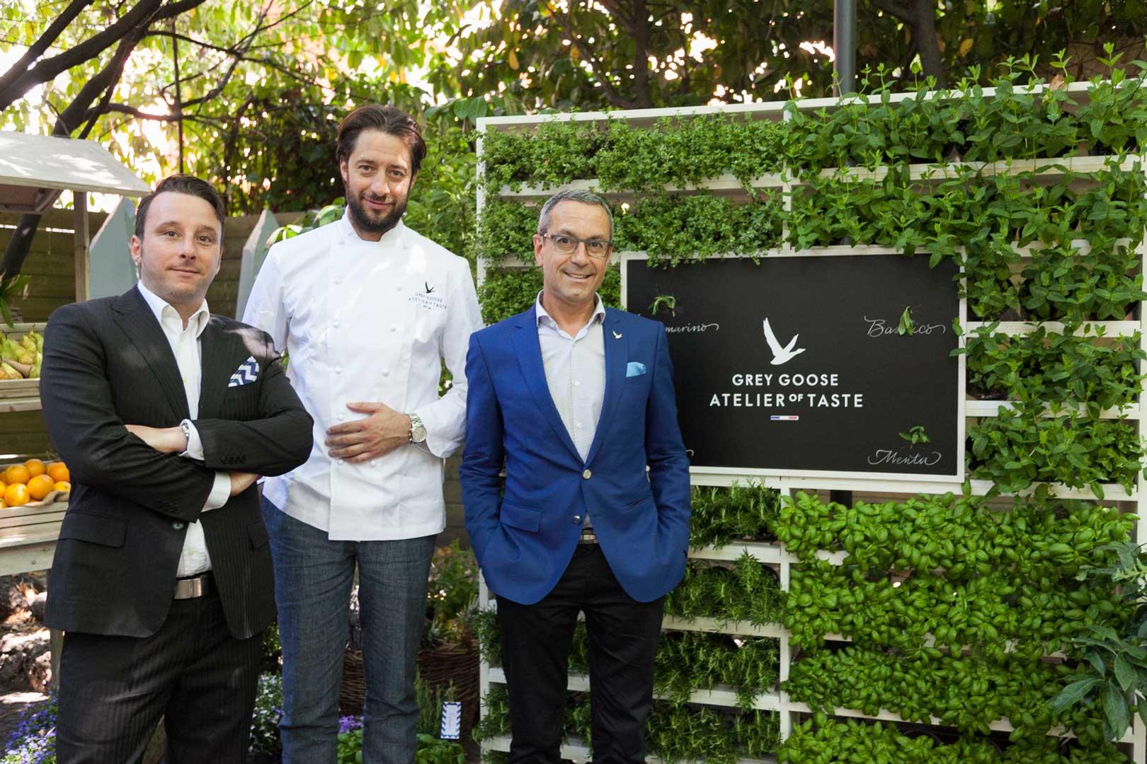 Grey Goose Atelier of Taste @ Sheraton Diana Majestic | Francois Thibault e Luigi Taglienti