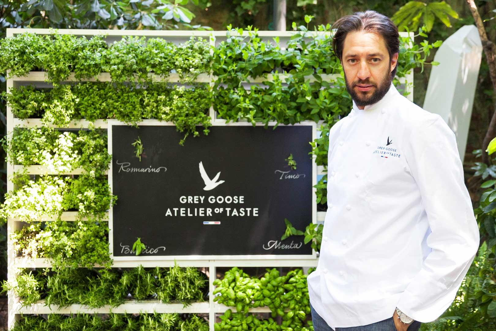 Grey Goose Atelier of Taste @ Sheraton Diana Majestic   Luigi Taglienti