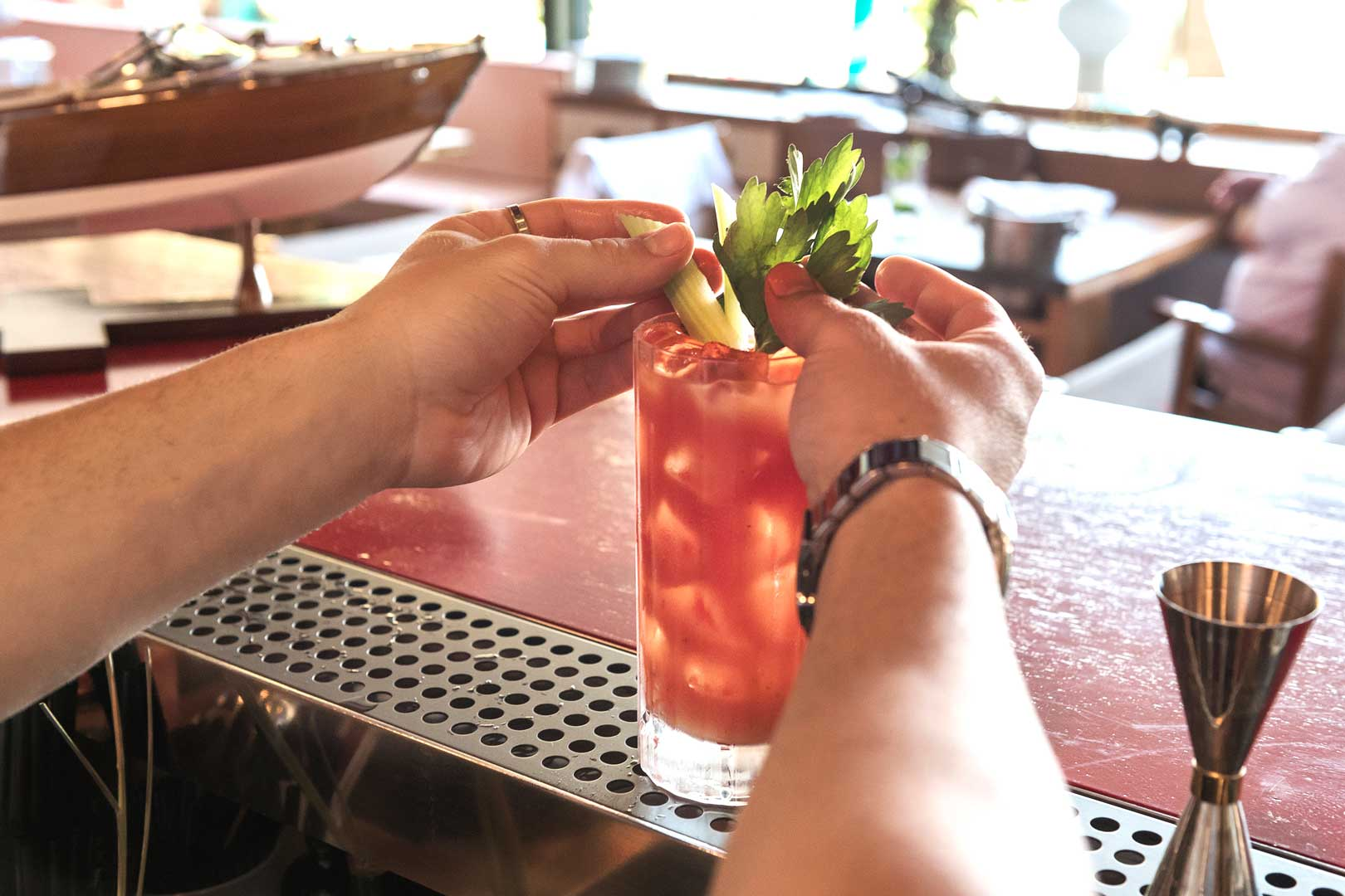 Langosteria Paraggi |Bloody Mary