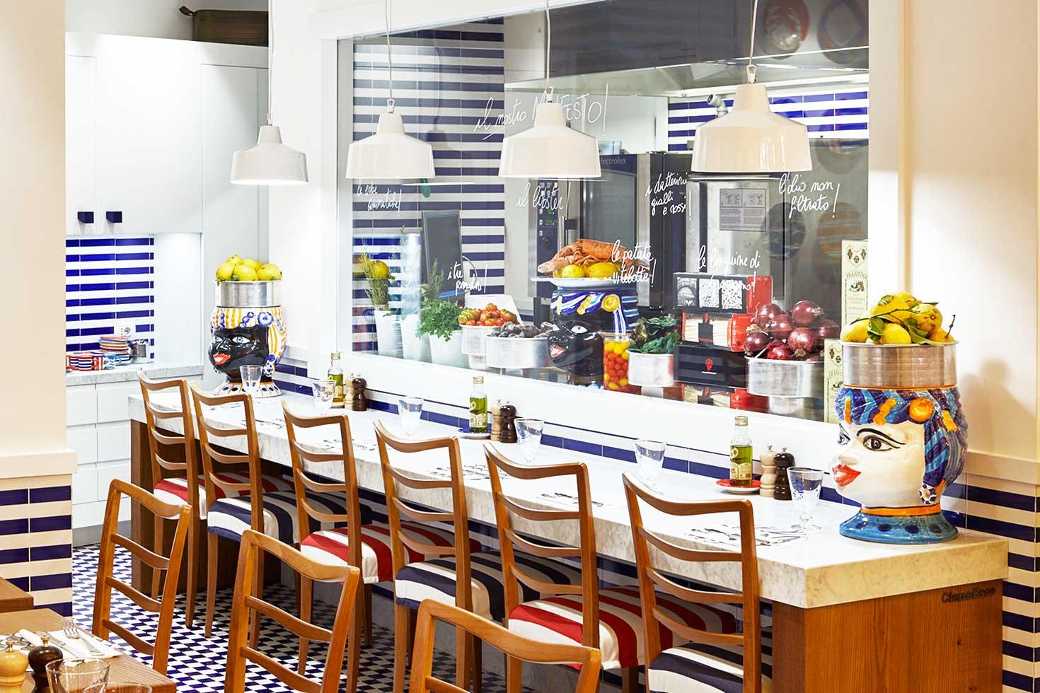Corallo Lobster Bar | Bancone