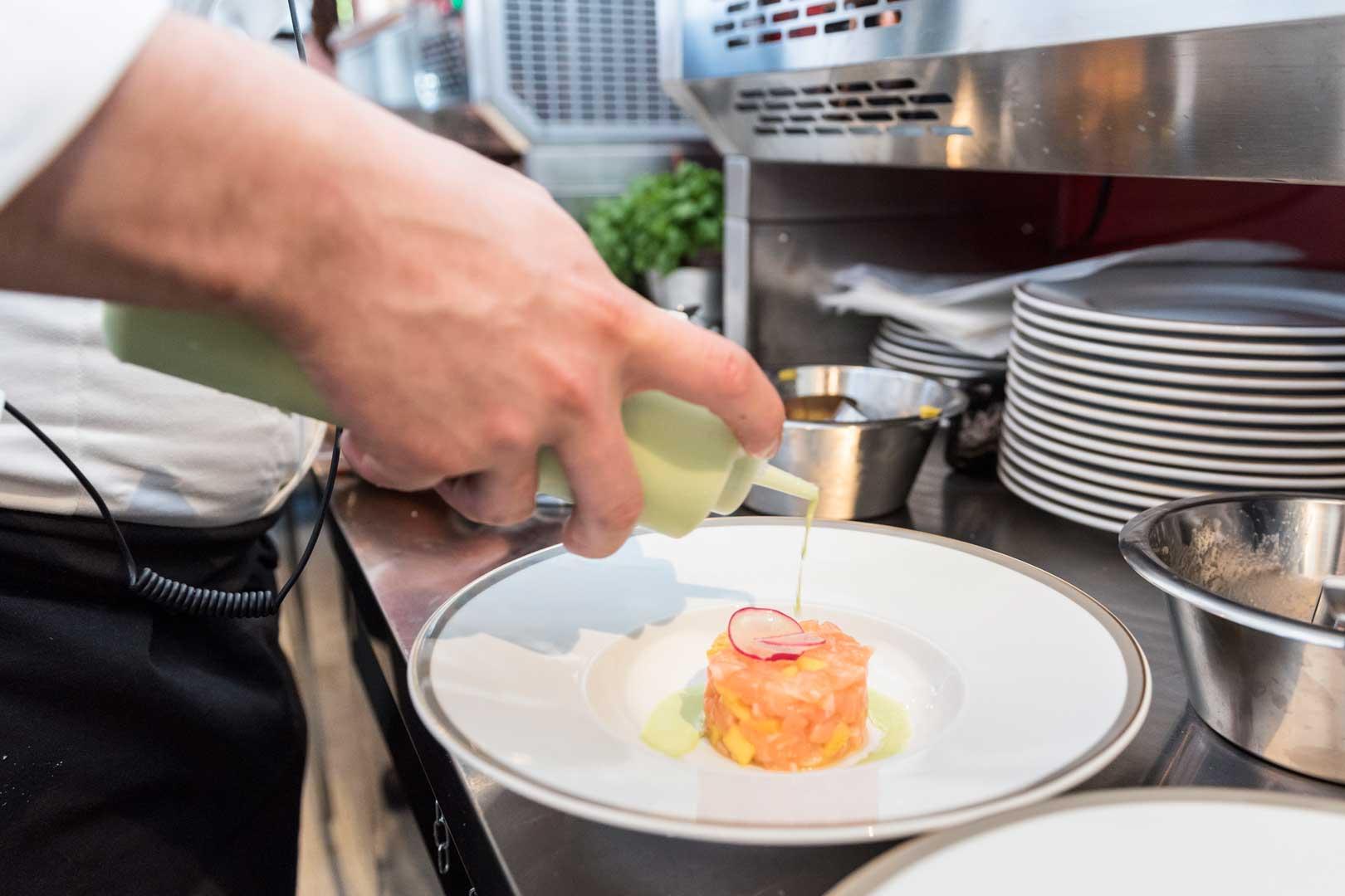 Langosteria Paraggi | Tartare Salmone