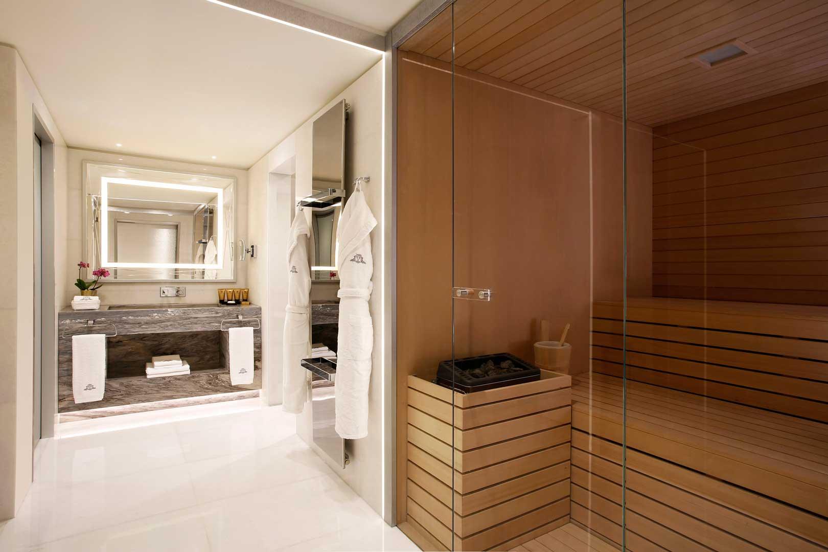 Excelsior Hotel Gallia | Katara Suite - Sauna