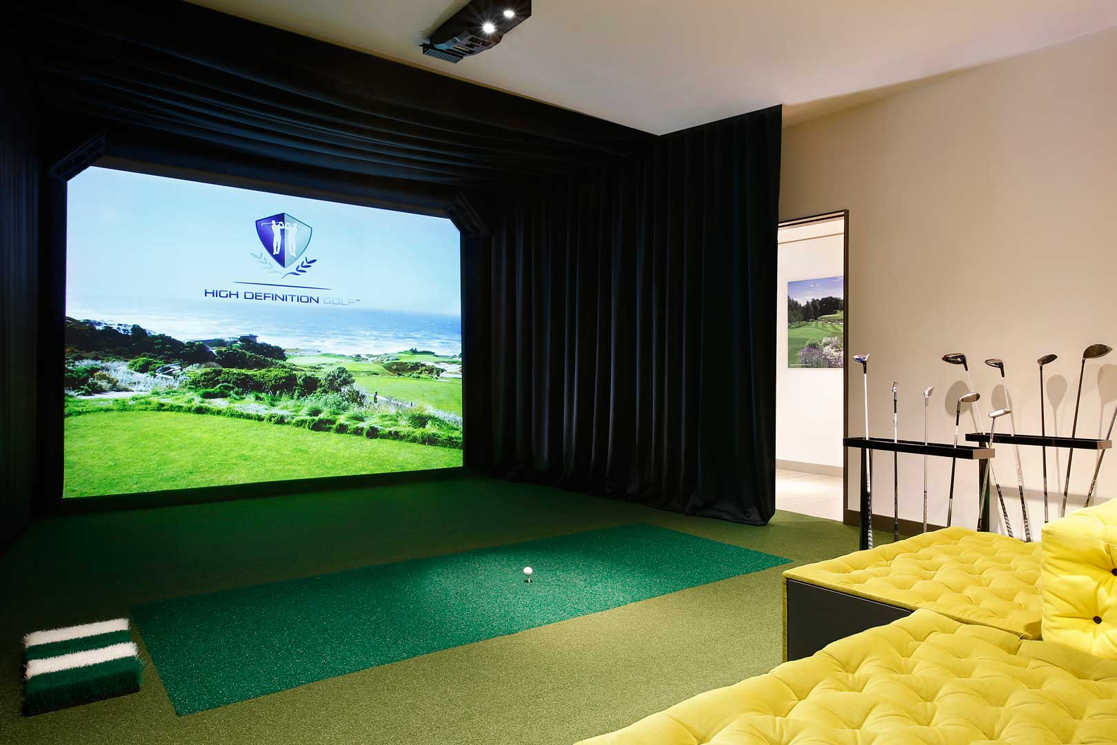 Excelsior Hotel Gallia | Virtual Golf