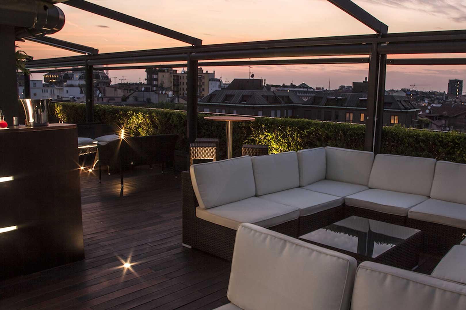 Sky Terrace - Hotel Milano Scala