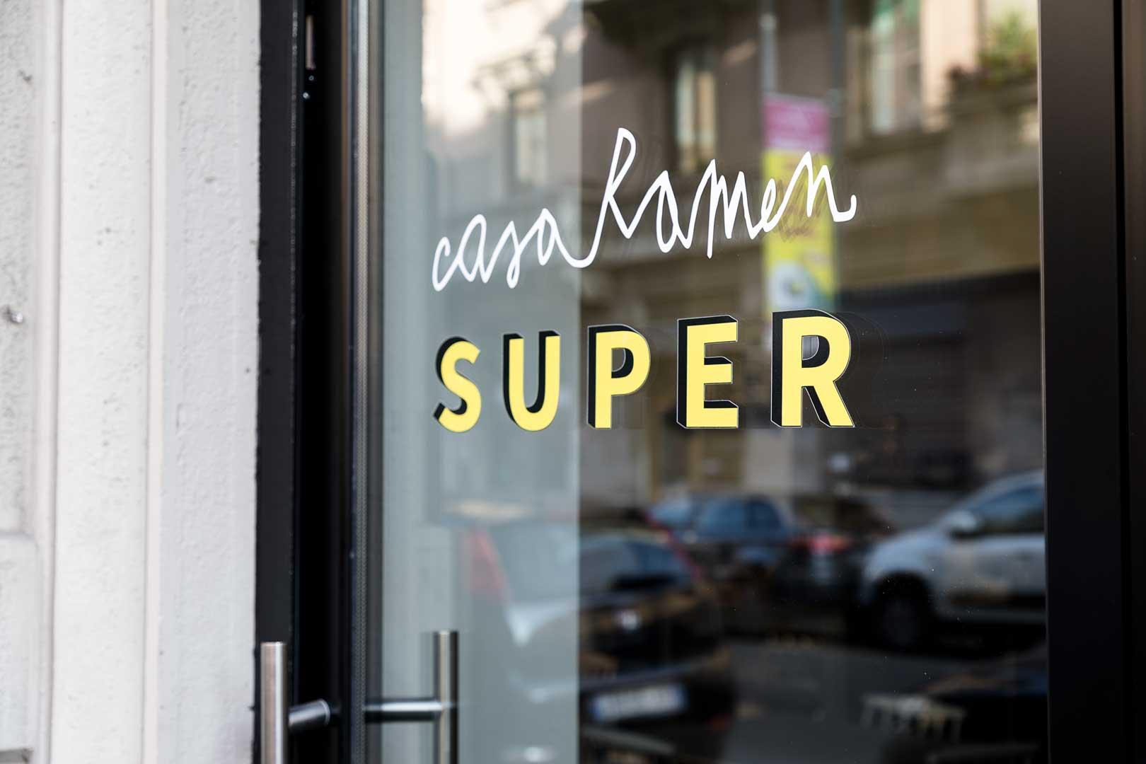 Casa Ramen Super | Logo
