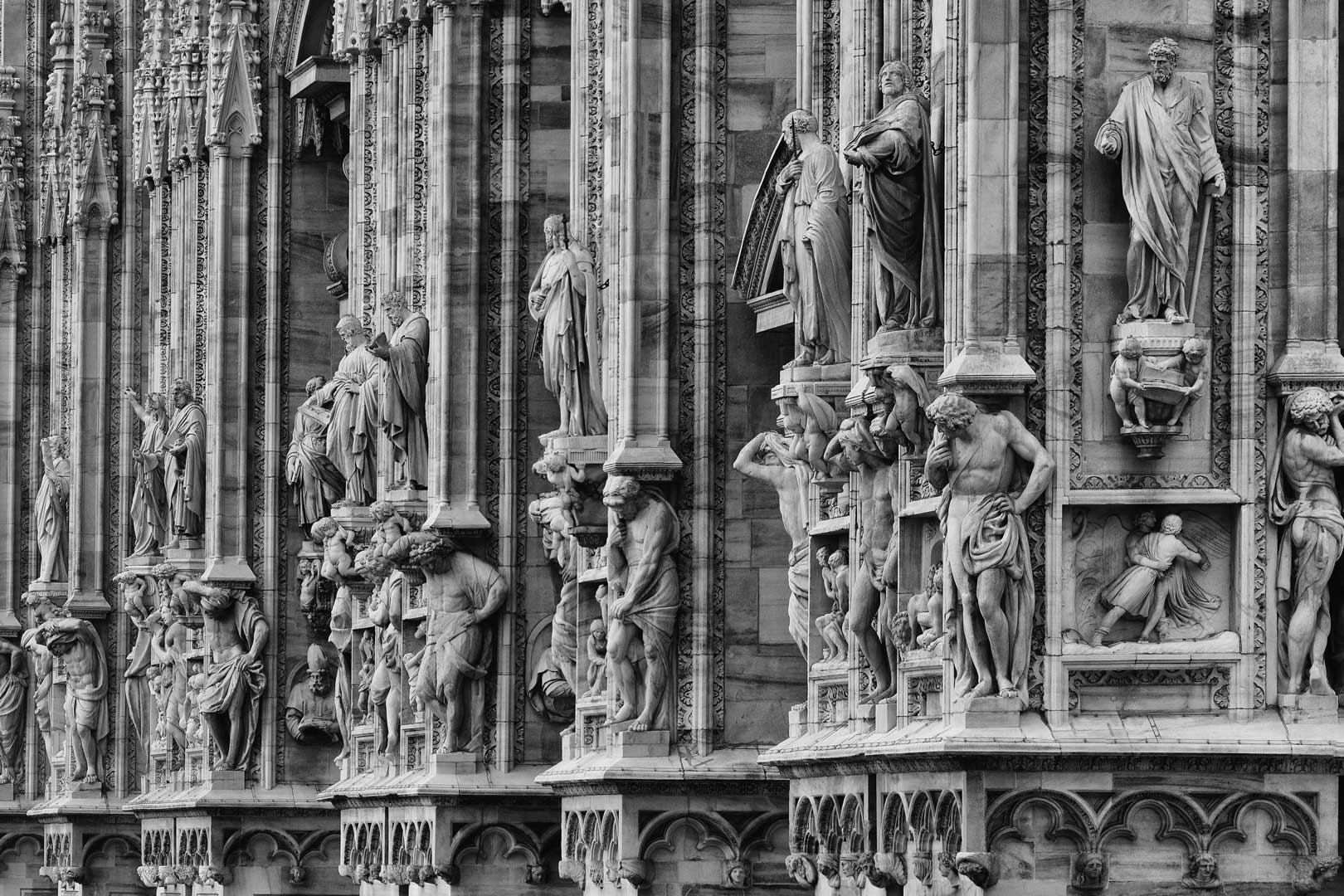 Duomo Milano | Statue