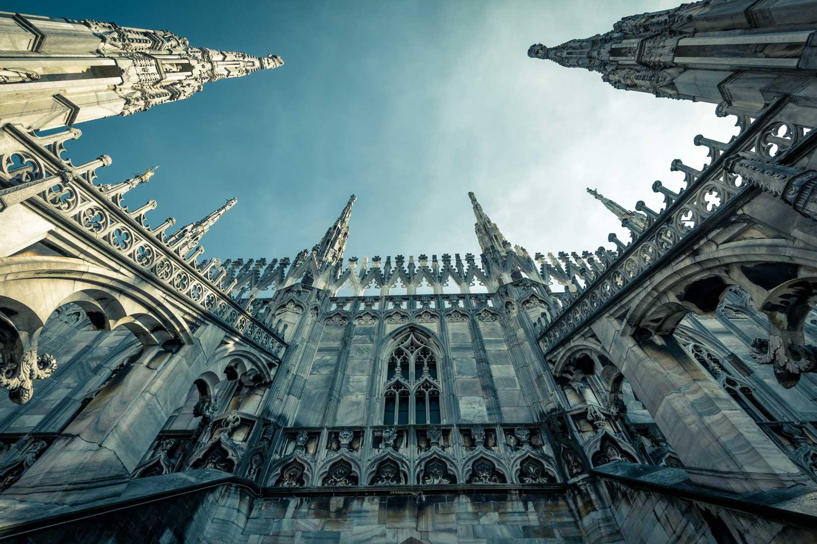 Duomo di Milano | Vista dal basso