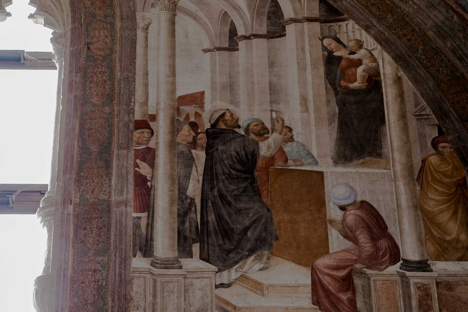 Cappella Portinari|Madonna Diabolica