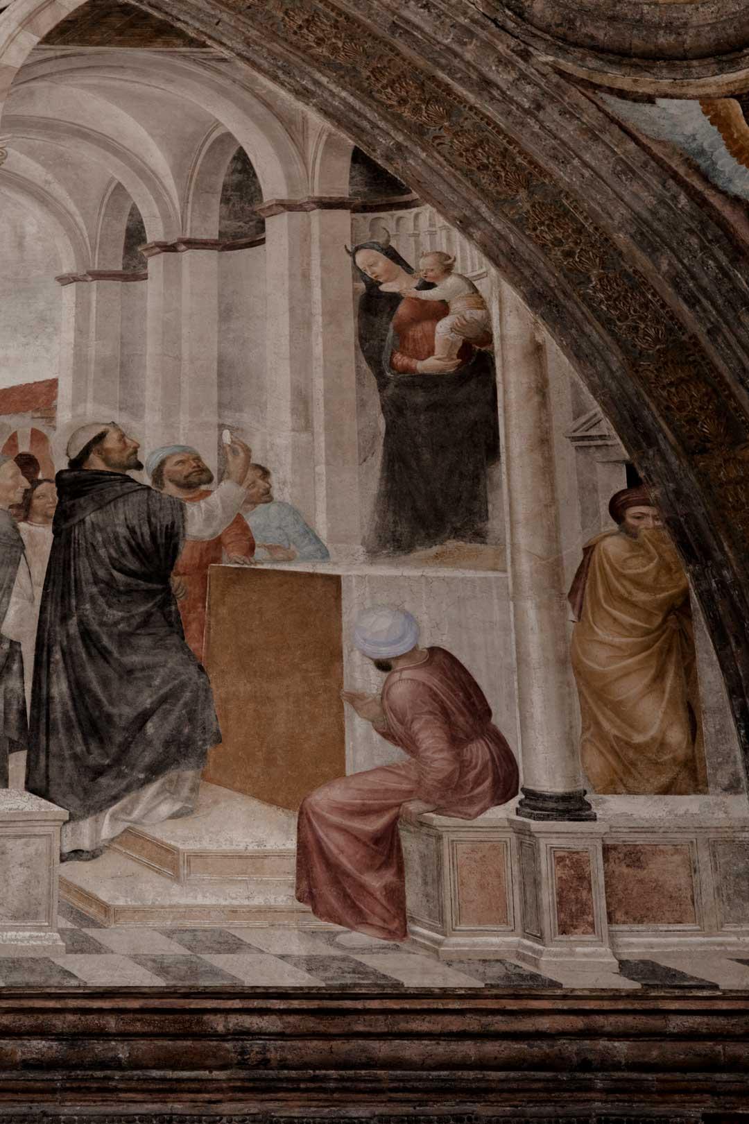 Cappella Portinari |Madonna Diabolica
