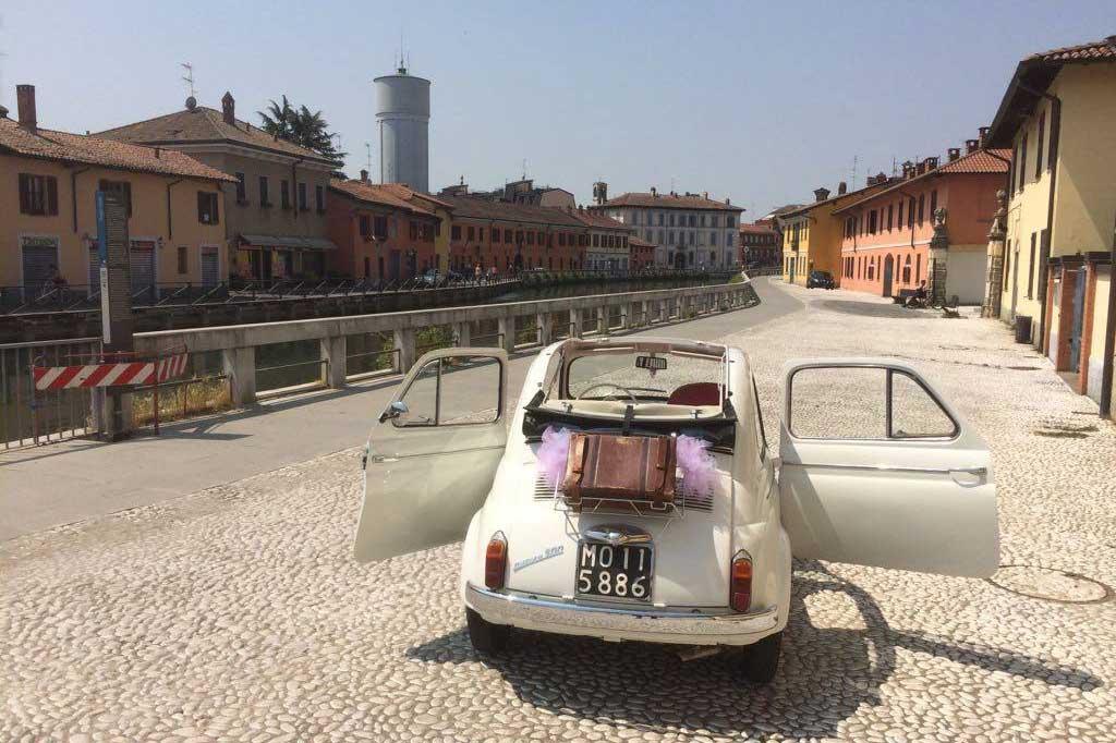Marry me in Cascina | Fiat 500