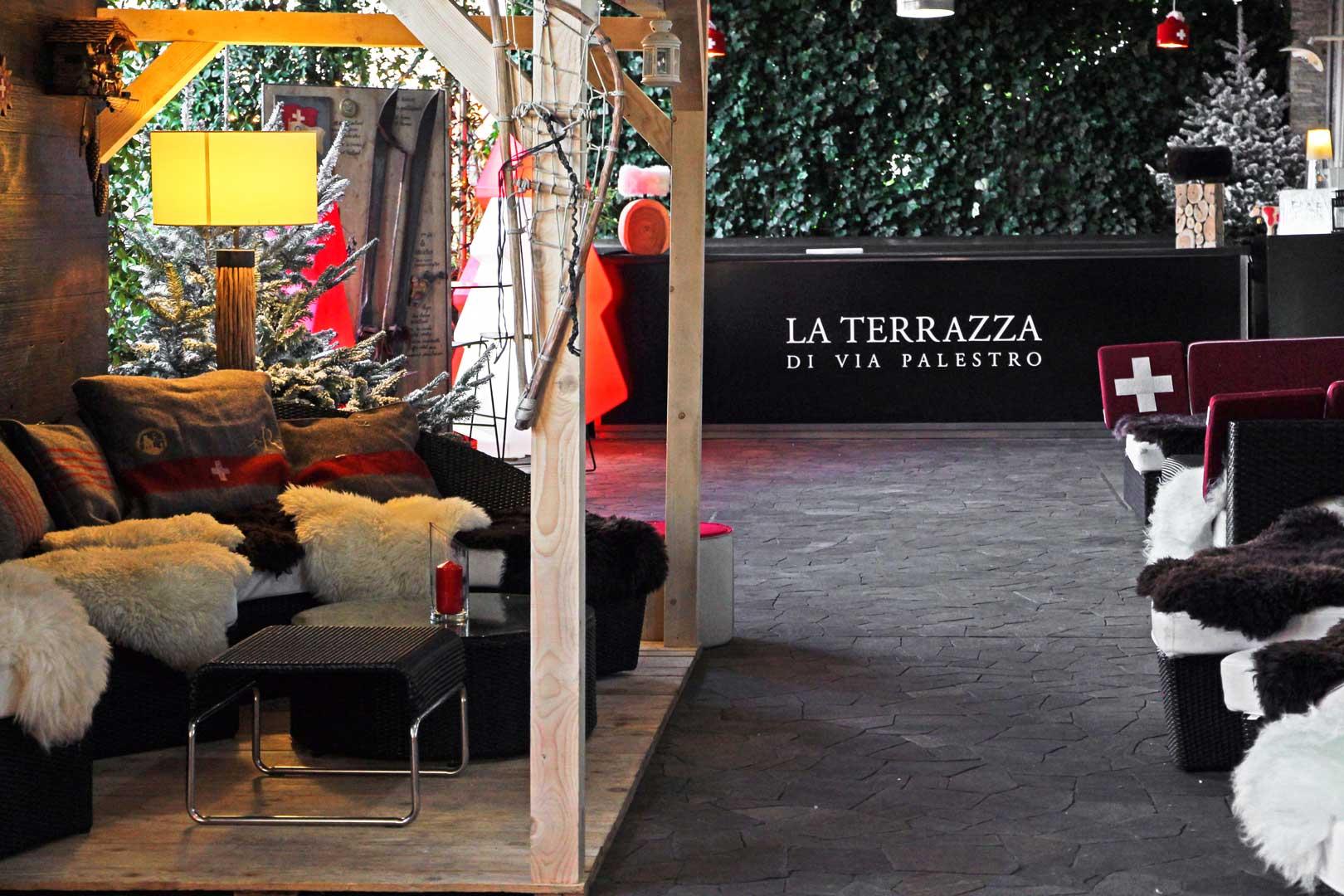 Swiss Winter Lounge | Terrazza Palestro