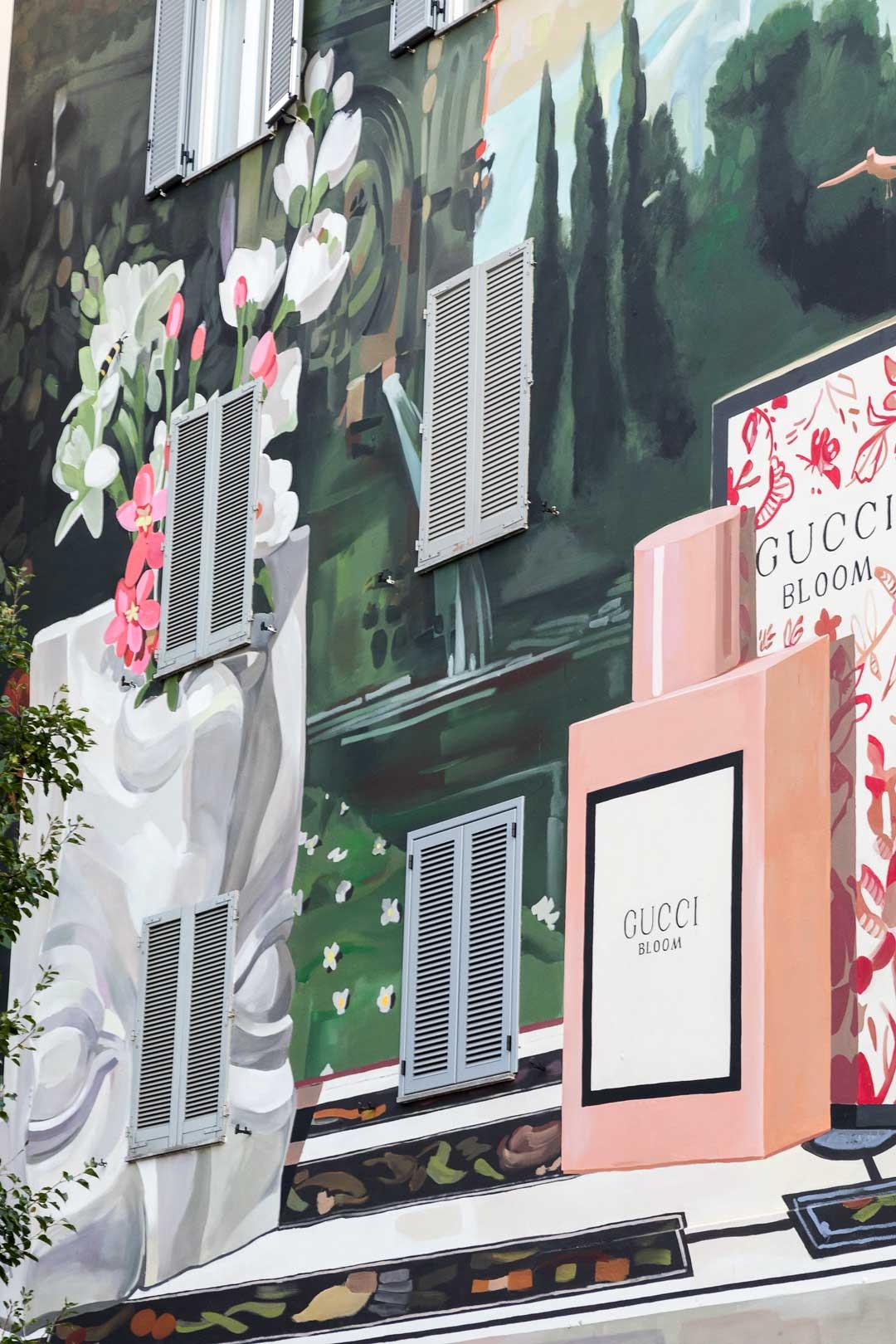 Gucci Art Wall