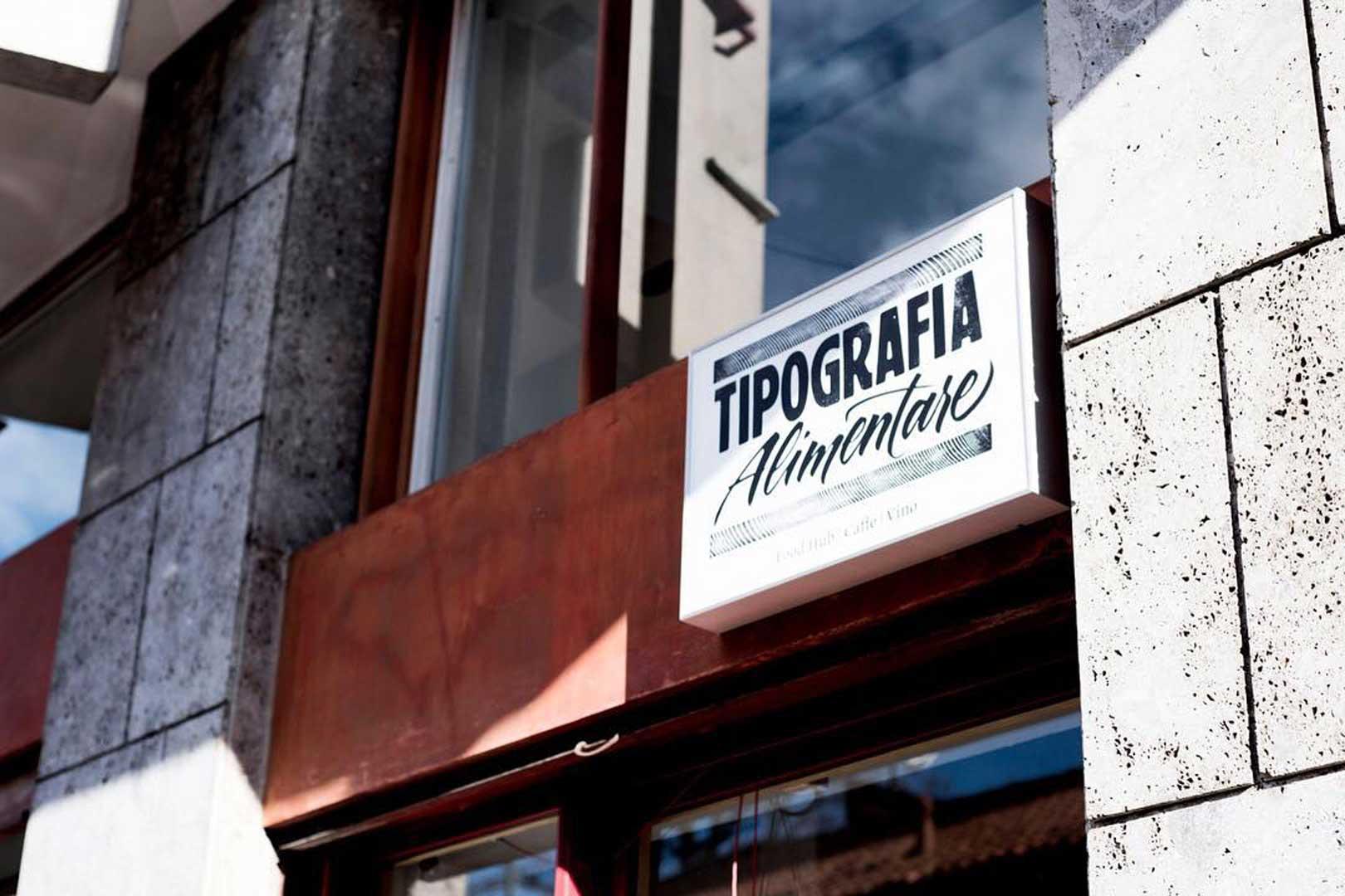 Tipografia alimentare - Milano