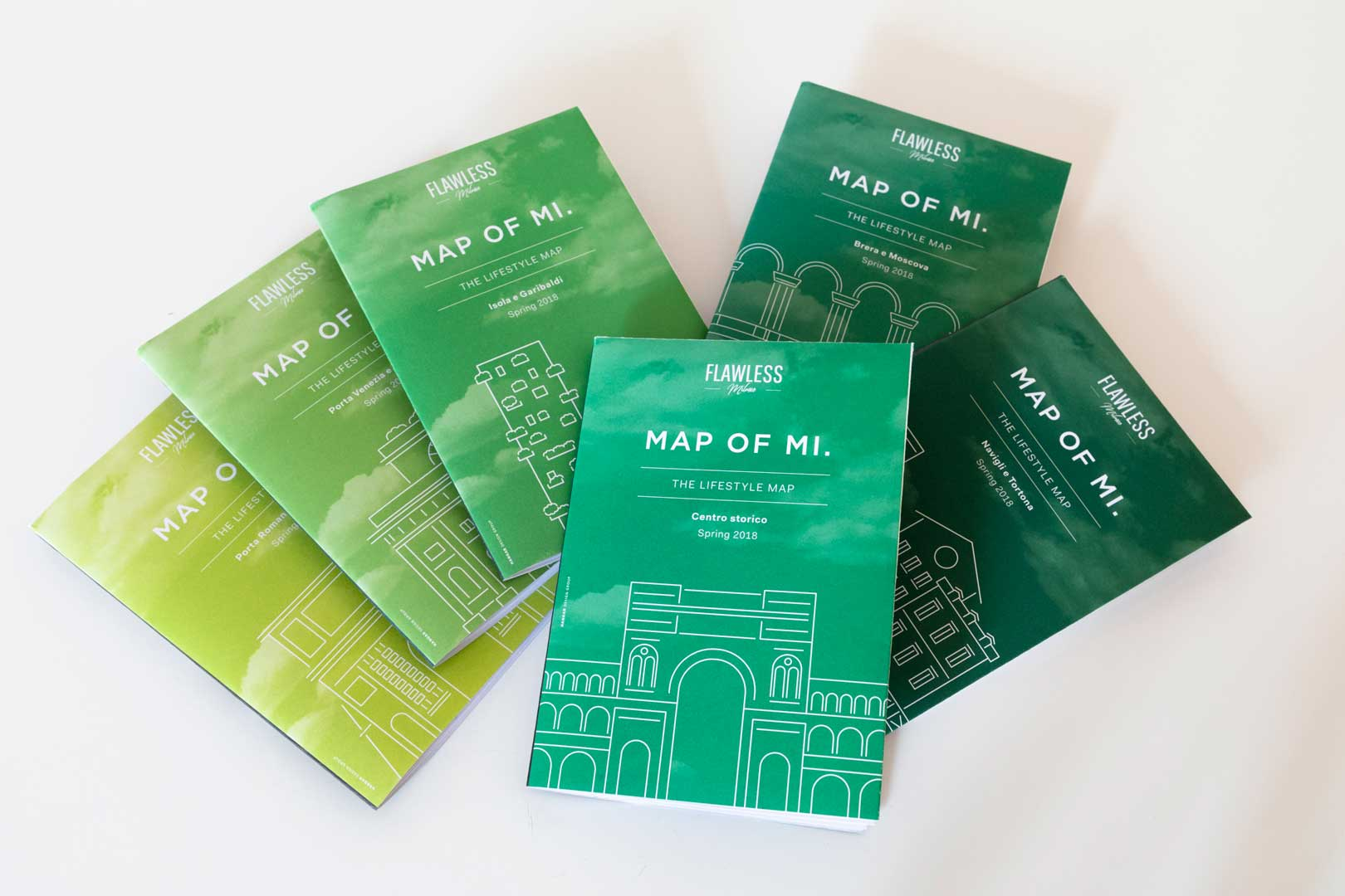 Map of Mi. - Spring Edition - Milano