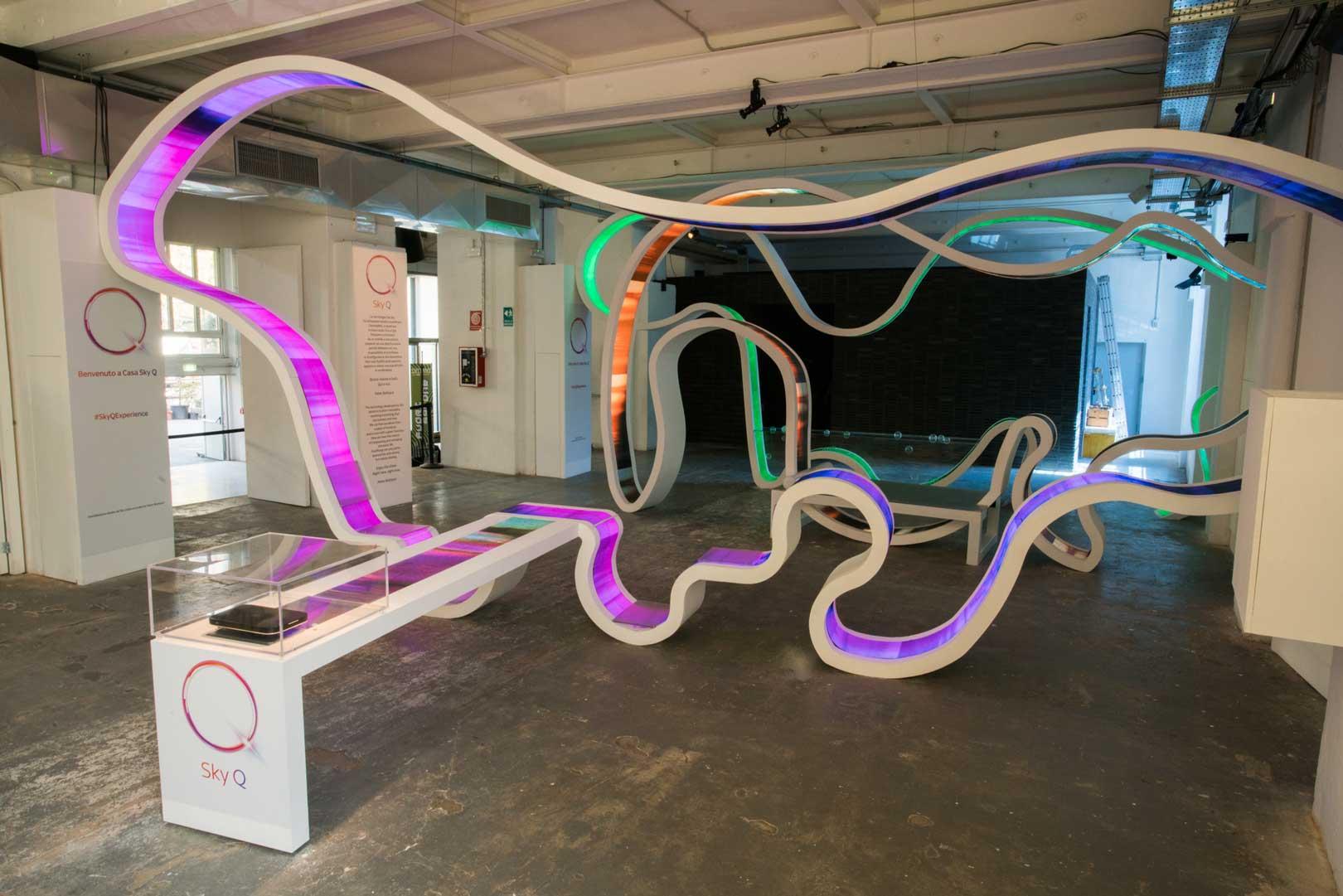 Sky Q Experience - Milano Design Week