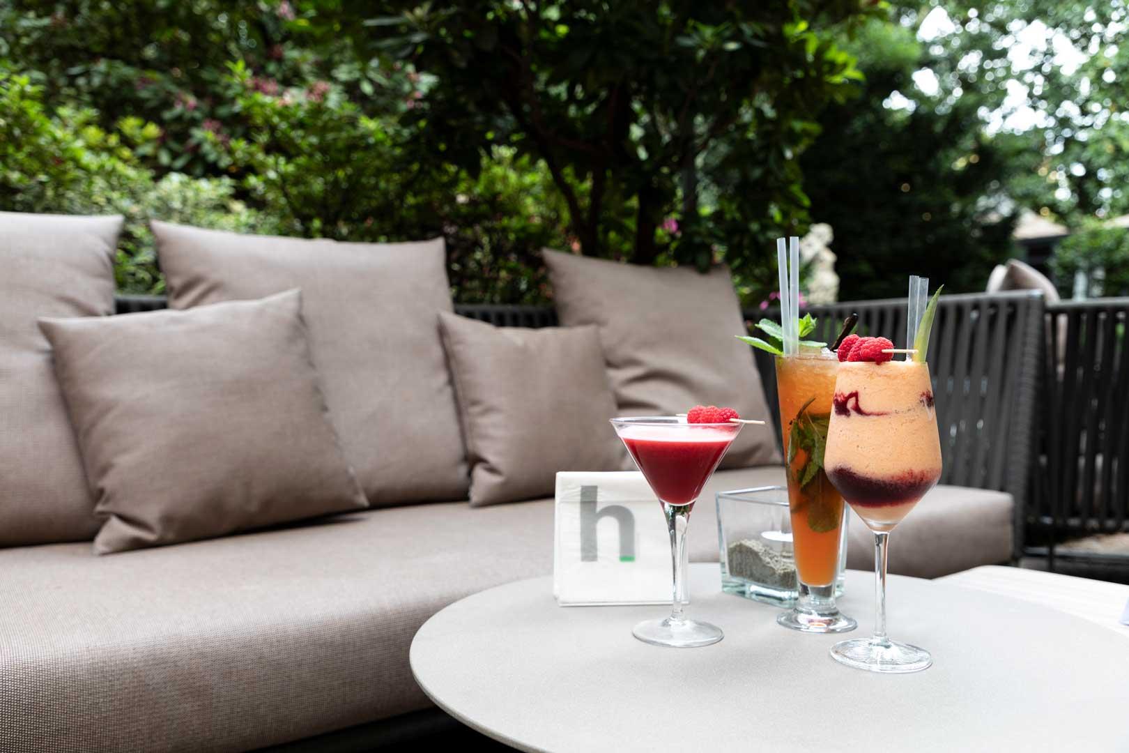 Sheraton Diana Majestic's garden opens again