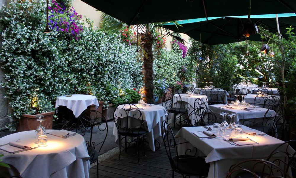 The Best Restaurants with Dehors in Milan