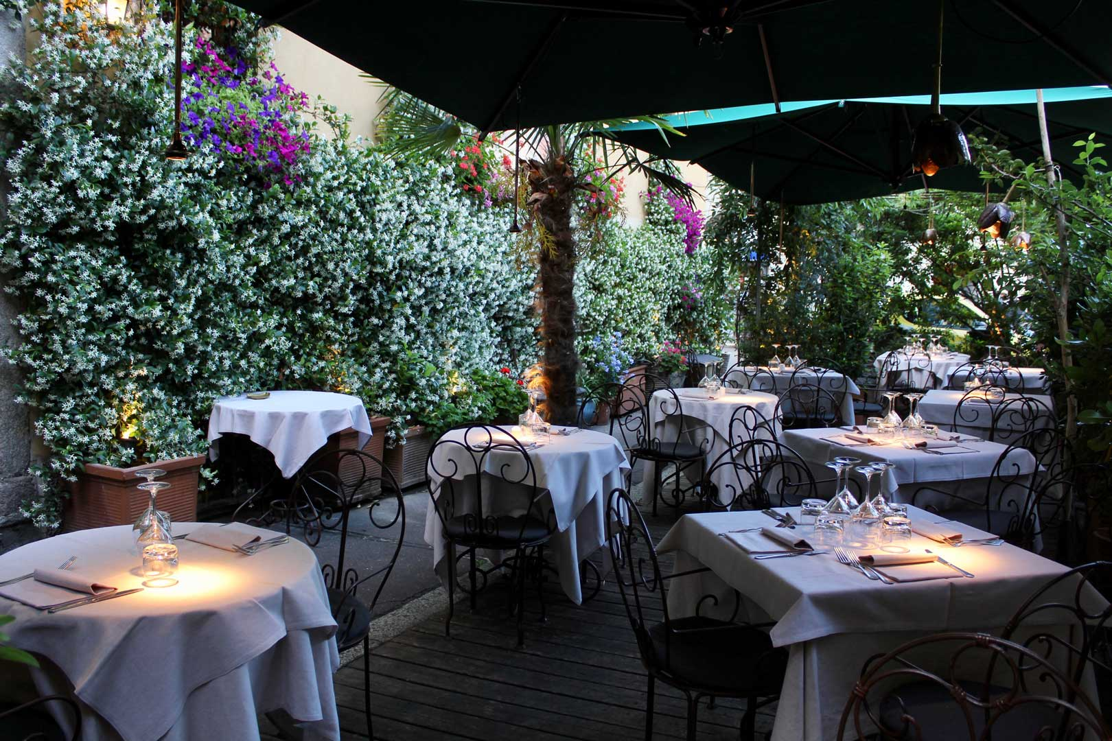 Best Restaurants With Dehors In Milan