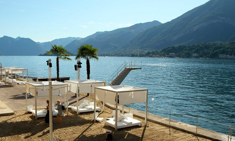 The Most Beautiful Beach Clubs of Lake Como