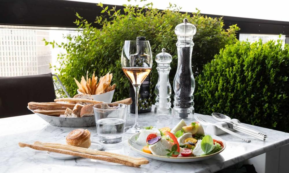 The new Terrazza Gallia aperitivo menu