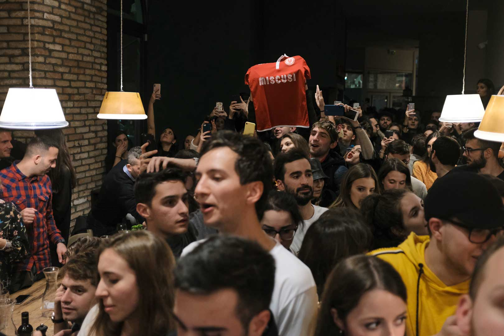 Un party a suon di carbs per il quarto Miscusi - Milano