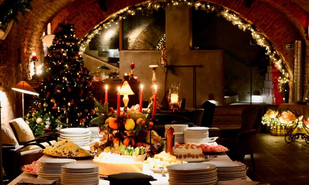 10 Ristoranti per le cene di Natale con amici e colleghi