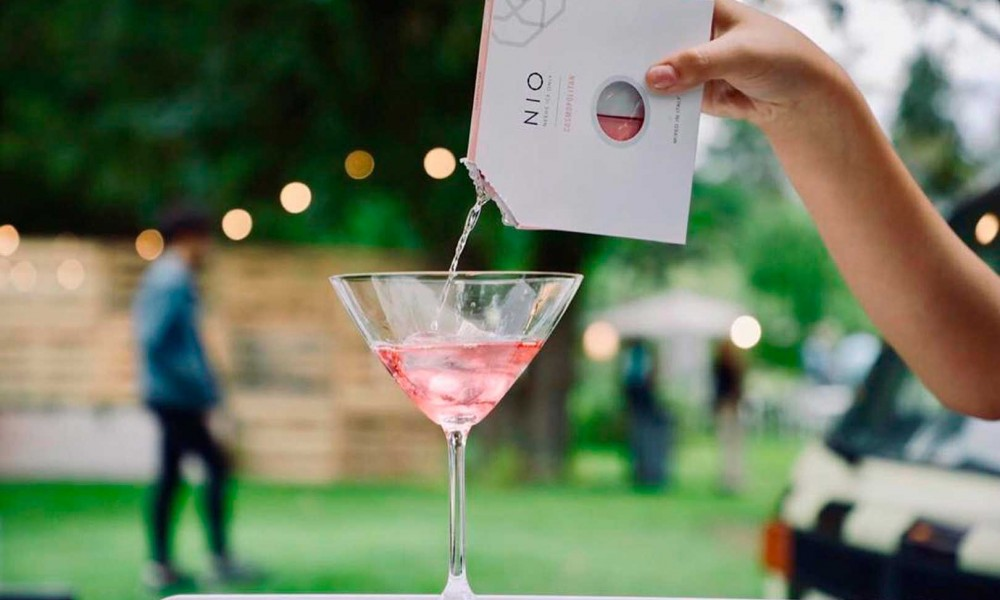 Il Fuorisalone con i cocktail di design NIO