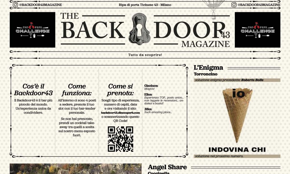 The Backdoor43 Magazine