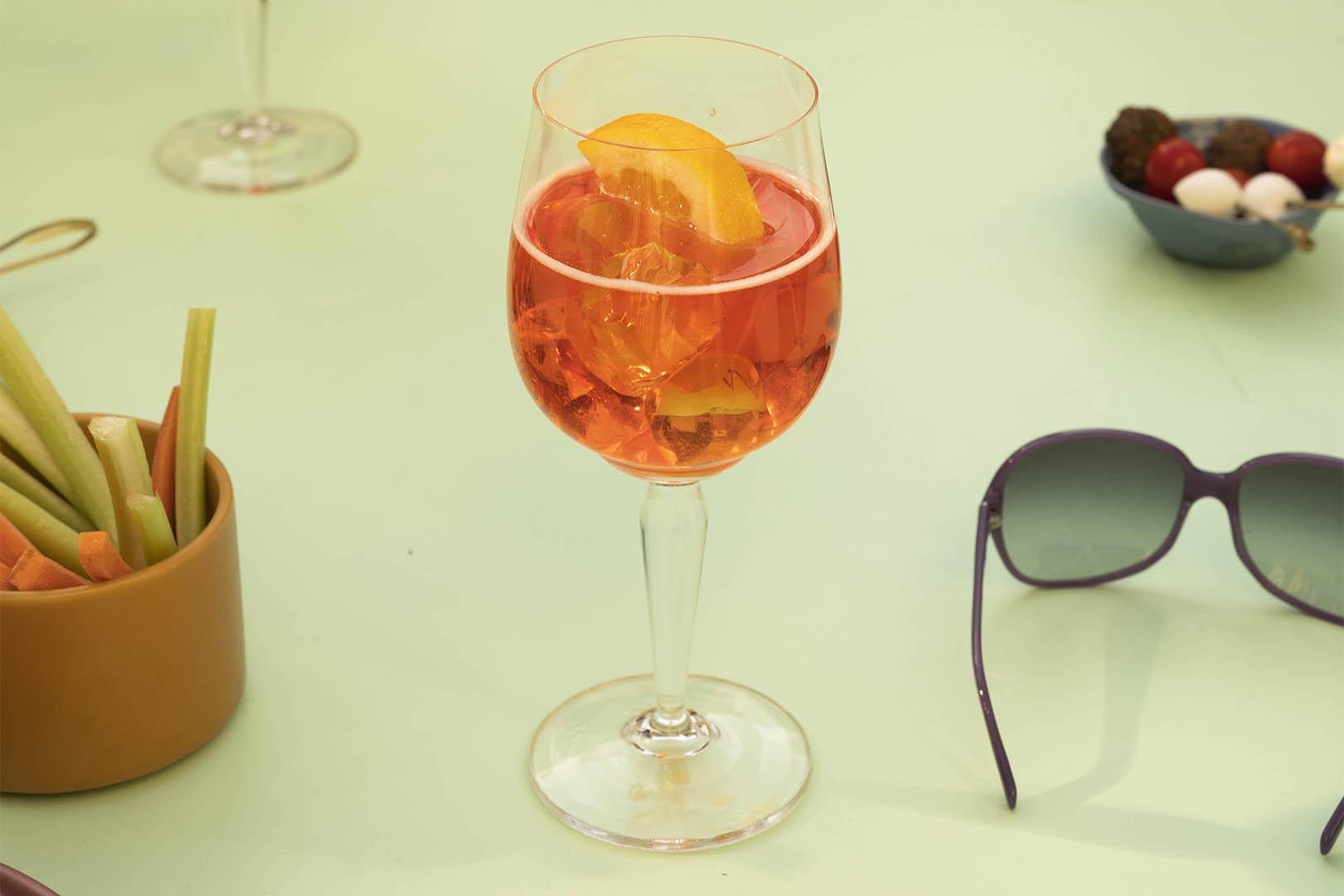Un giro dell Italia intorno al bicchiere