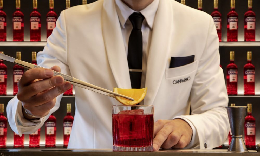 Camparino in Galleria Spegne 105 Candeline