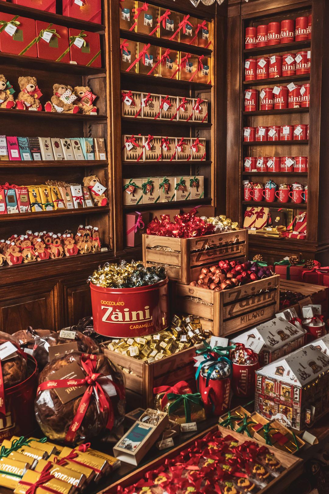Autentica Atmosfera di Natale da Zaini Milano