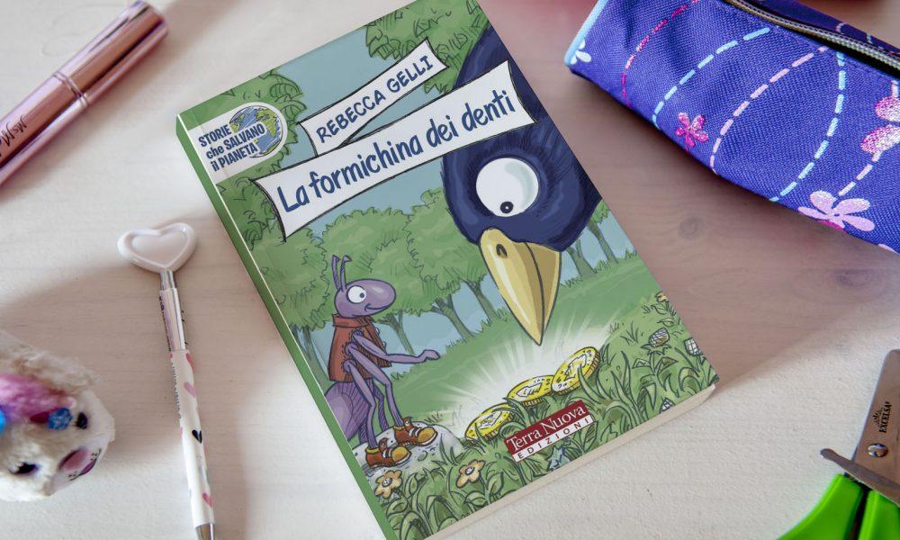 """""""La Formichina dei Denti"""" Insegna ai Bambini la Salute Dentale"""