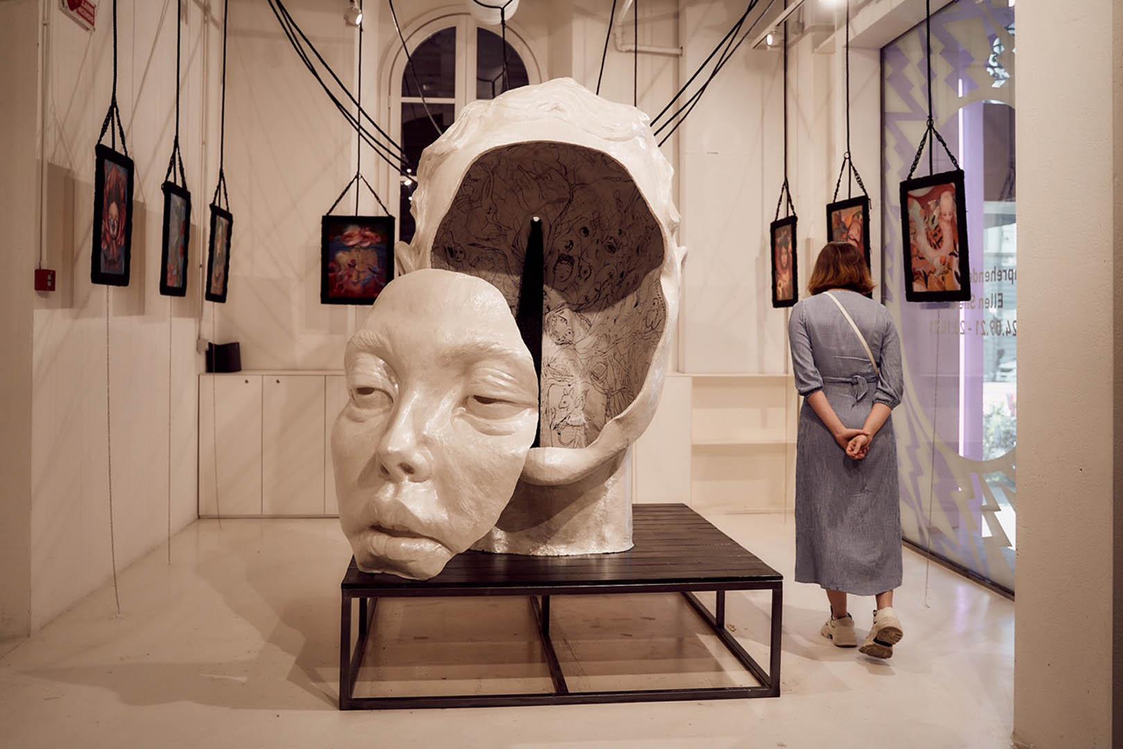 Comprehended By Fantasy l Artista Russa Ellen Sheidlin conquista Firenze